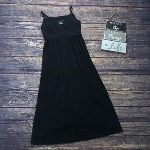 🌀Liz Lange | Long Black Maxi Dress A Line